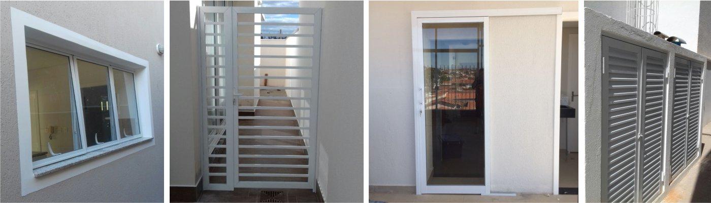 ADR Esquadrias de Aluminio Campinas - Janelas e Portas de Aluminio