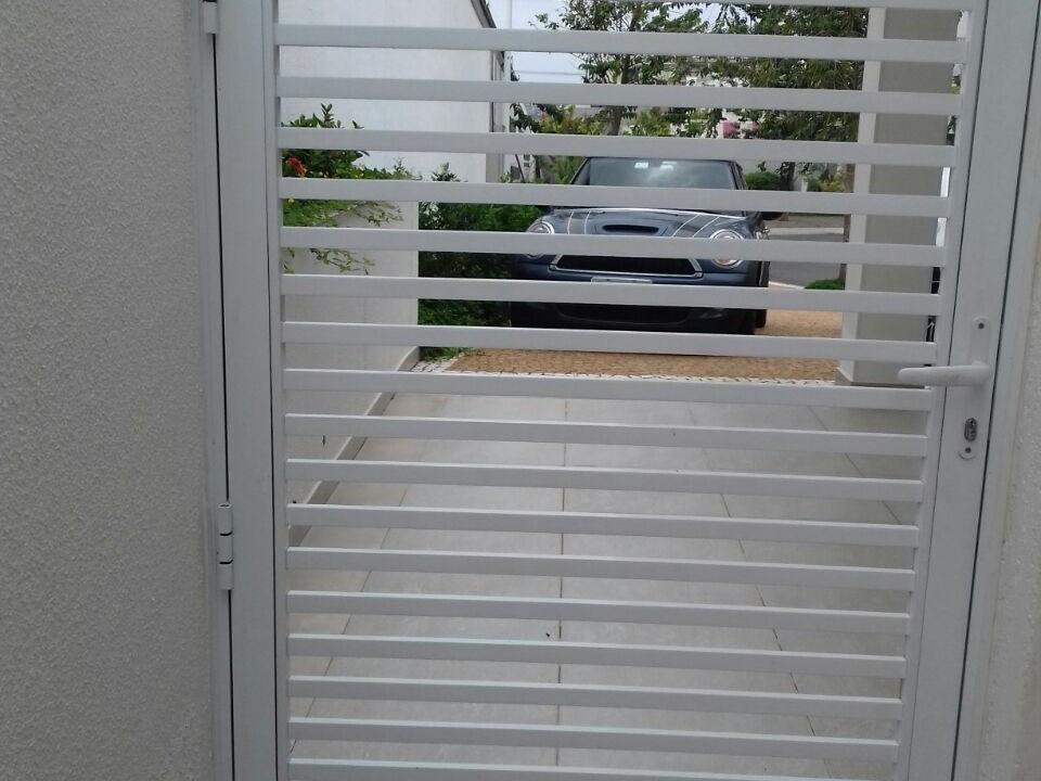 Portão de Alumínio - Sob Medida - ADR - Esquadrias de Alumínio Campinas