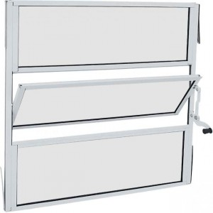 Janela de Aluminio Basculante Campinas - Sob Medida