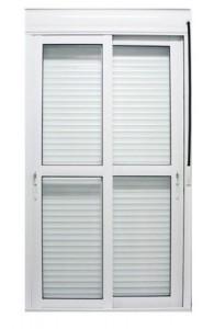 Porta de Aluminio Integrada Campinas - Sob Medida