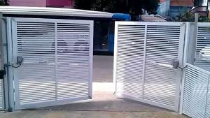 portão de alumínio Campinas - Sob Medida